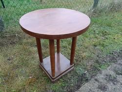 Szép,jò és masszìv antik szecessziòs v. art deco asztal