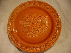 Gránit Nőnap tányér