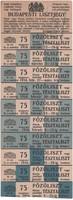 Budapesti lisztjegy 1916