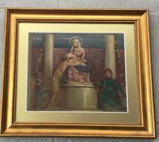 Stein János: Mária a kisdeddel
