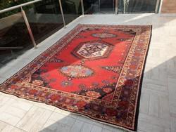 Antik Viss 232x341 kézi csomózású gyapjú perzsa szőnyeg ingyen posta MM_504
