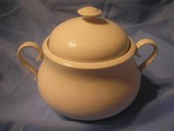 N23 Antik Magyar porcelán jelzett .Alföldi retro pörköltes ,leveses tál eladó