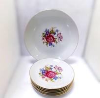 Német porcelán süteményes készlet (ZAL-BI40946)