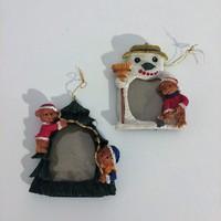 Fényképtartós, Karácsonyfa dísz