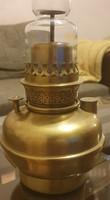 Antik petróleum lámpa réz 2. Lüszter lámpa