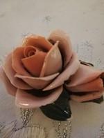 Eladó régi porcelán Ens dupla rózsa nipp!