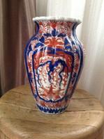 Antik japán Imari kézzel festett váza