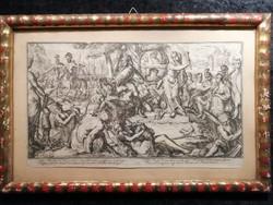 Romeyn de Hooghe - OVERIJSSEL allegóriája, 1704-1706.