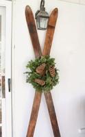 Antik norvég fa síléc dekorációnak