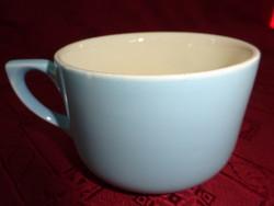 Gránit porcelán, szürkéskék teáscsésze, átmérője 8,5 cm.