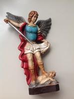 Régi olasz műanyag Arkangyal figura 1997