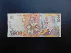 Romania 5000 lei 1998  01