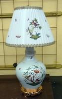 Herendi  óriási Rothschild  lámpa