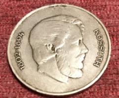 Kossuth 5 Ft 1947 es ezüst.