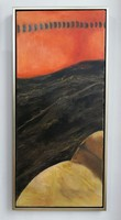 """""""Baroque details"""" modern framed oil painting directly from the artist"""