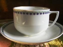 Schlaggenwald tojáshéjporcelán 2 db teás csésze + 2 db csészealj, párban eladó