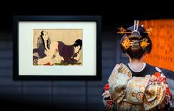 SHUNGA, Utamaro: Mature Couple Making Love, 1799.