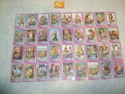 Hannah Montana - csajos kártya, gyermek kártya - harminchat darab