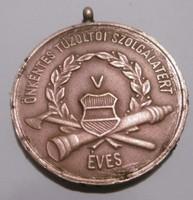 Tűzoltó kitüntetés