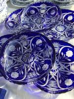 Ajkai kristály  sütis készlet (6 db)
