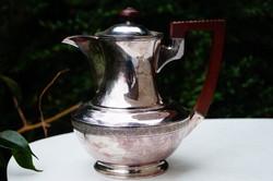 Ezüstözött Angol teás kanna