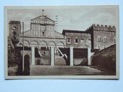 FIRENZE, BAZILIKA, FOTÓ 1934, POST CARD, KÉPESLAP (9X14 CM) EREDETI