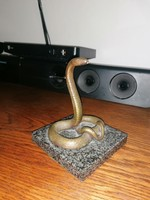 Bronz zsebóratartó Kígyó