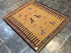 Nomád KELIM / KILIM kézi szövésű szőnyeg, 88 x 106 cm