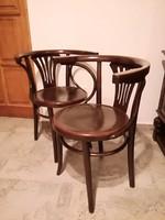 Thonet,Thonett,Tonett LICHTIG szék párban