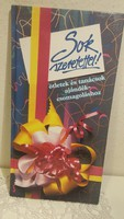 Sok szeretettel! Ötletek és tanácsok ajándékcsomagoláshoz, kreatív kézikönyv, könyv,  Hávor Csilla