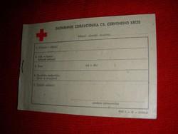 Szlovák egészségügyi notesz