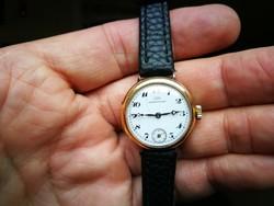 IWC Schaffhausen 14k arany női óra