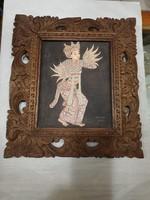 Régi indonéz falikép