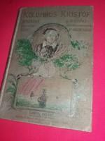 Antik életrajzi könyv Dr. Bróczik Károly : Kolombusz Kristóf 2. kiadás képeken látható állapotban