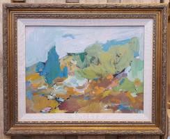Rose Baumruker amerikai posztimpresszionista festő tájképe