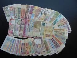 50 darab külföldi bankjegy LOT - MIX !  04