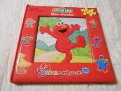 Amy Paradis: Szezám utca Elmo évszakai puzzle kirakó gyerek könyv