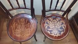 Már csak 1 db. gyönyörű, Thonet szék a múlt század elejéről.