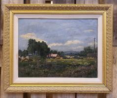 Ripszám Henriknek tulajdonított tájkép (38x49)