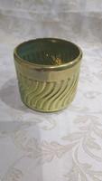 Zsolnay modern eozin váza kaspó