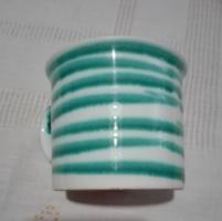 Osztrák kerámia csésze, Gmundner, 3 dl-es