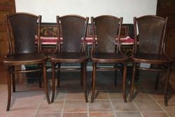 Antik jelzett Thonet szék 4 darab