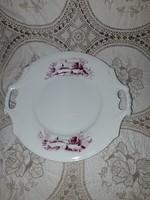 Porcelán tálca vagy tányér