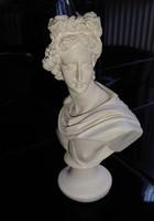 Apollo mellszobor 15 cm magas gipsz büszt