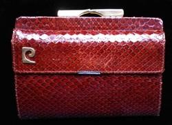 Eredeti Pierre Cardin kígyóbőr pénztárca
