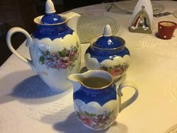 Tea, kávé kiöntő, cukortartó, tejszínes (400)