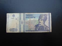 5000 lei 1993 Románia  03