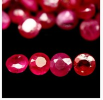 9.08 ct madagaszkári rubin drágakövek