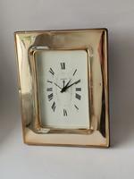 925 ezüst Geneve asztali óra nagy méretű