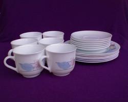 Arcopal porcelán kávéskészlet 18 db